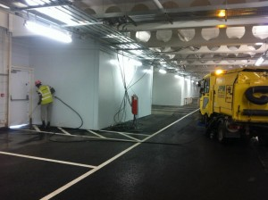 Underground Car Park Cleaning