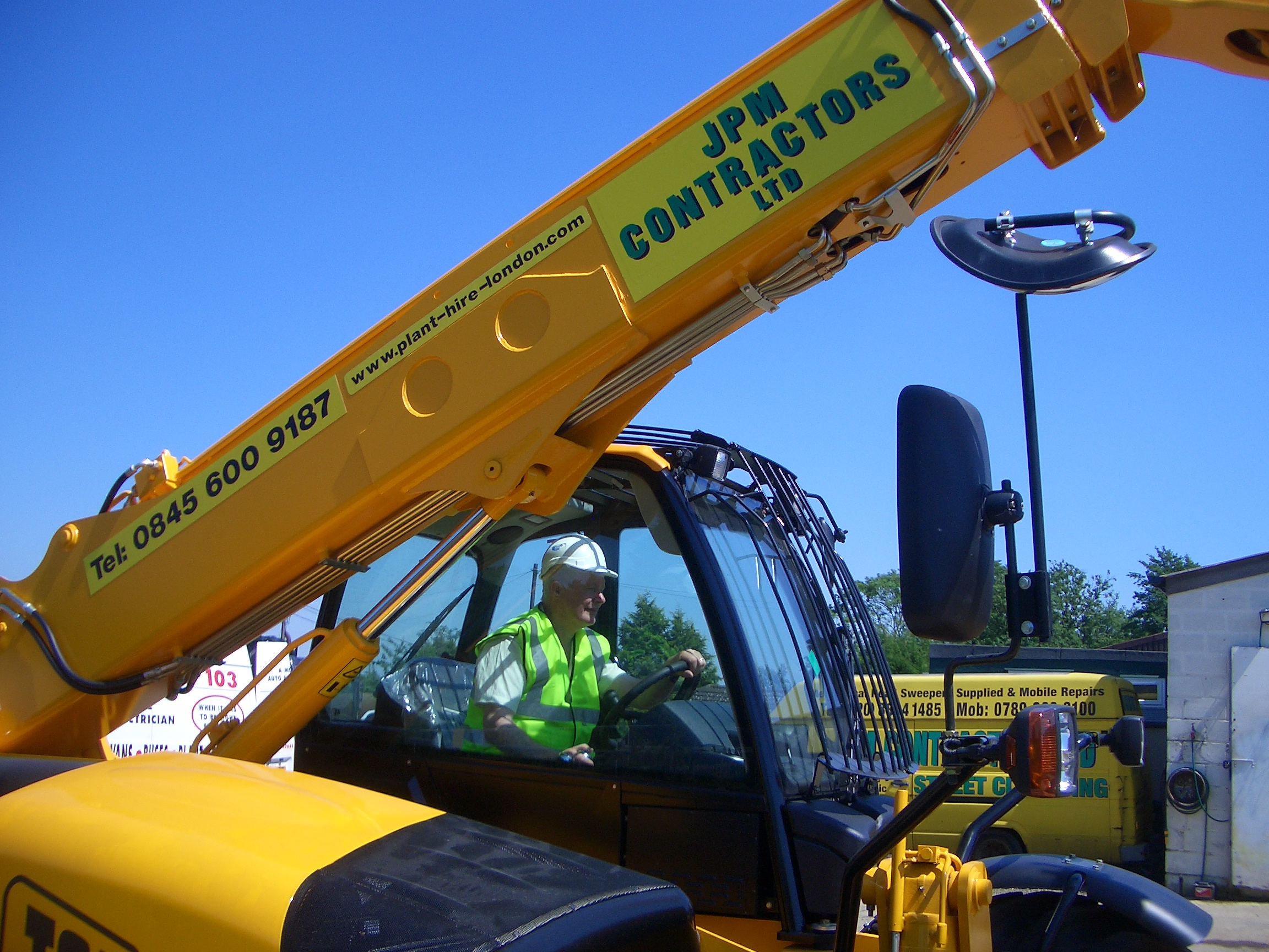 JPM Contractors Ltd Telehandler